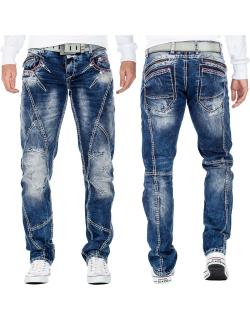 Cipo & Baxx Herren Jeans CD563 Blau W30/L34