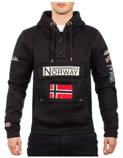 Geographical Norway Herren Pullover Gymclass Black XXL