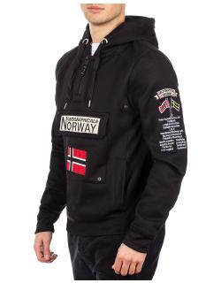 Geographical Norway Herren Pullover Gymclass Black XXL