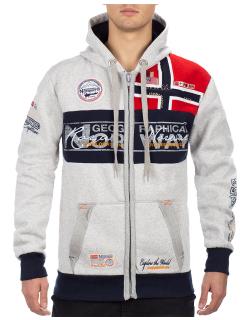 Geographical Norway Herren Sweatjacke Flyer Men Blended...