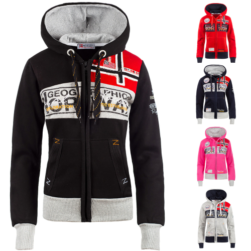 Geographical Norway Damen Sweatjacke Flyer Lady