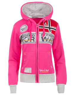 Geographical Norway Damen Sweatjacke Flyer Lady Flashy...