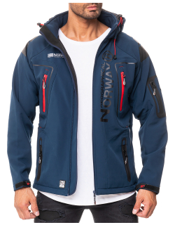 Geographical Norway Herren Jacke Techno Men 007/RPT navy...