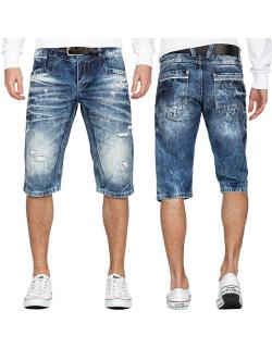 Cipo & Baxx Herren Shorts 20CB13-BANS Blau W38