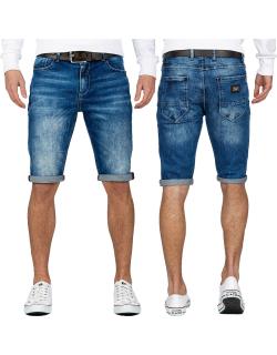 Cipo & Baxx Herren Shorts CK184 Blau W34