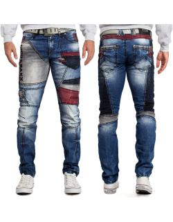 Cipo & Baxx Herren Jeans CD574 Blau W40/L34