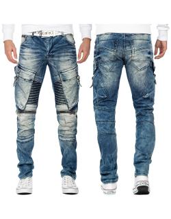 Cipo & Baxx Herren Jeans CD523 Blau W40/L34