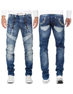 Cipo & Baxx Herren Jeans CD576 Blau W34/L32