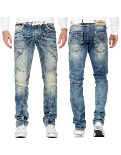 Cipo & Baxx Herren Jeans CD535 Blau W33/L32