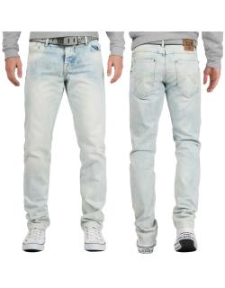 Cipo & Baxx Herren Jeans CD319X Hellblau W38/L32