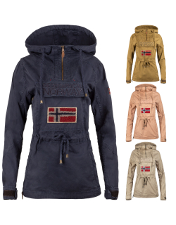 Geographical Norway Damen Windbreaker Jacke Canon