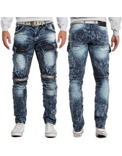 Cipo & Baxx Herren Jeans CD494 Blau W32/L32