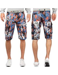 Cipo & Baxx Herren Shorts CK204 Blau W38