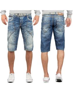 Cipo & Baxx Herren Shorts CK201 Blau W32