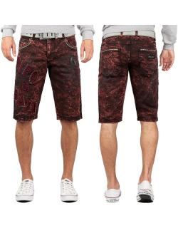 Cipo & Baxx Herren Shorts CK207 Bordeaux W29