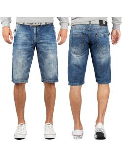 Cipo & Baxx Herren Shorts CK217 Blau W36