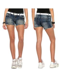 Cipo & Baxx Damen Shorts WK158