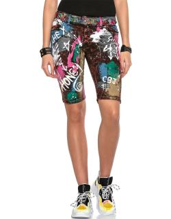 Cipo & Baxx Damen Shorts WK159