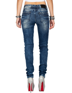 Cipo & Baxx Damen Jeans WD378