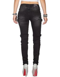 Cipo & Baxx Damen Jeans WD383