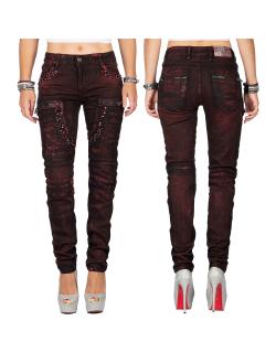 Cipo & Baxx Damen Jeans WD388