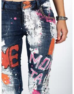 Cipo & Baxx Damen Jeans WD399