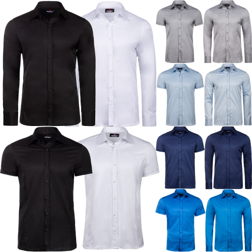Cipo & Baxx Herren Business Hemd Regular Fit