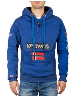 Geographical Norway Herren Pullover Gymclass Blue XL