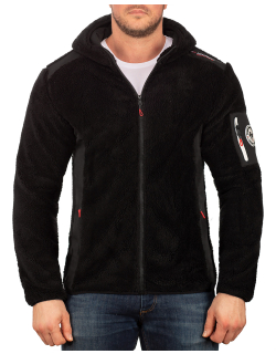 Geographical Norway Herren Fleecejacke Tufour Black L