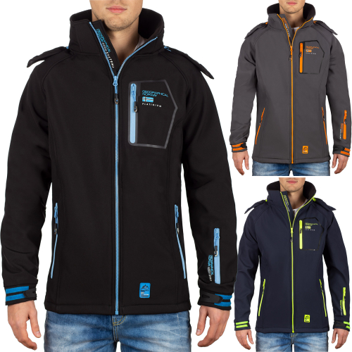 Geographical Norway Herren Softshelljacke Rizlan