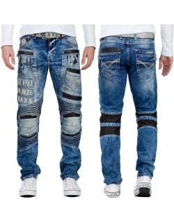 Cipo & Baxx Herren Jeans CD637 Blau W32/L34