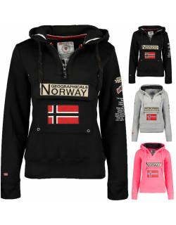 Geo Norway Damen Kapuzenpullover Gymclass Lady