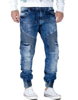 Cipo & Baxx Herren Jeans CD446 BLAU