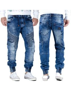 Cipo & Baxx Herren Jeans CD446 BLAU W34/L34