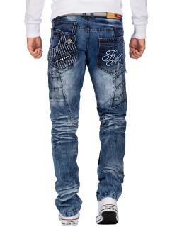 Kosmo Lupo Herren Jeans KM020