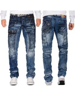 Kosmo Lupo Herren Jeans KM020 W32/L32